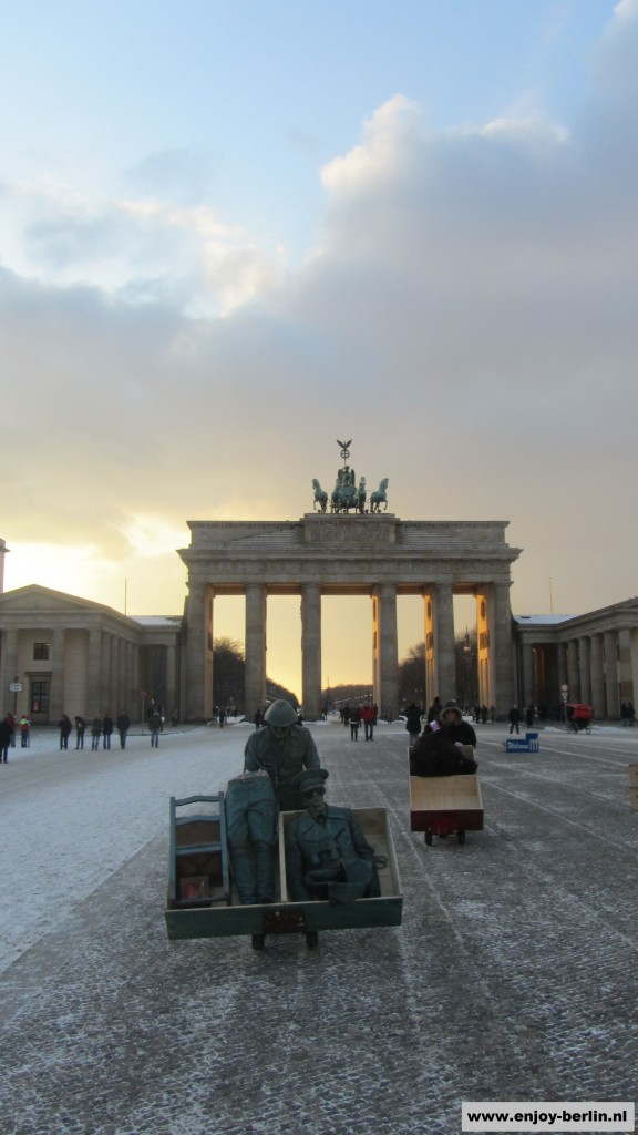 Winter Brandenburger Tor