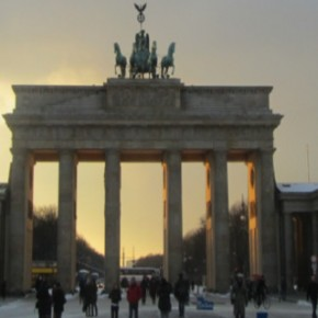 Brandenburger Tor in Berlijn Panorama
