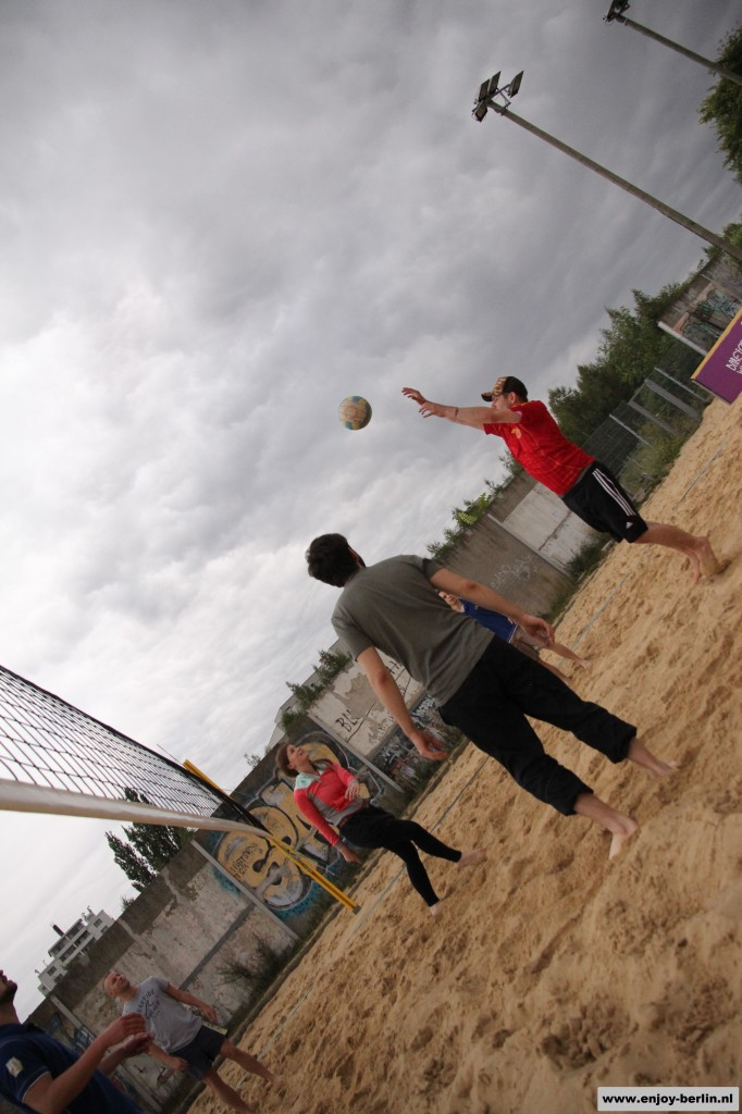 Beachvolleybal in Berlin (Beachmitte)