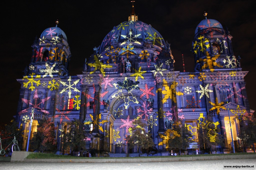 Berlijnse Dom Festival of lights