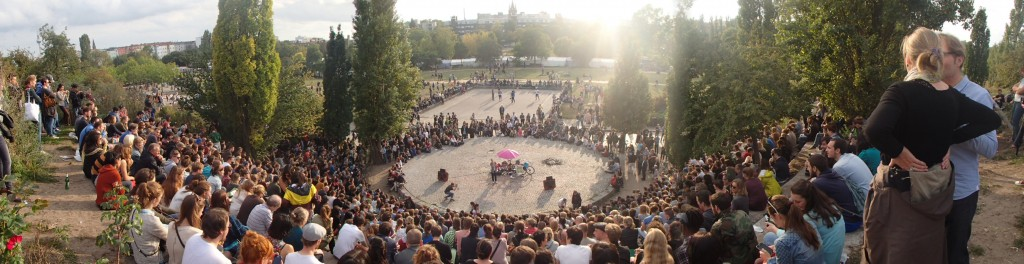 Panorama Mauerpark (© Berlin-Enjoy.com)