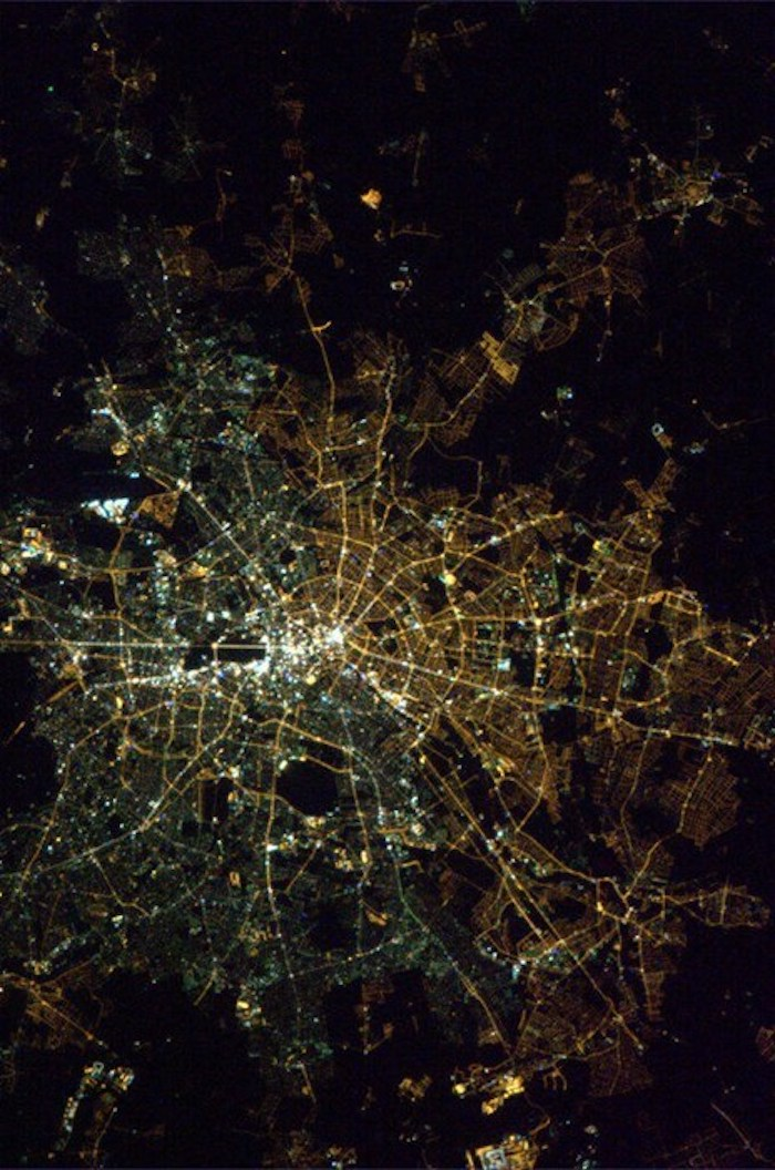 East and West Berlin Space