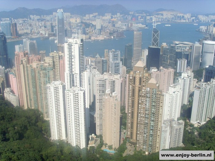 Hong Kong Skyline Peak Tower
