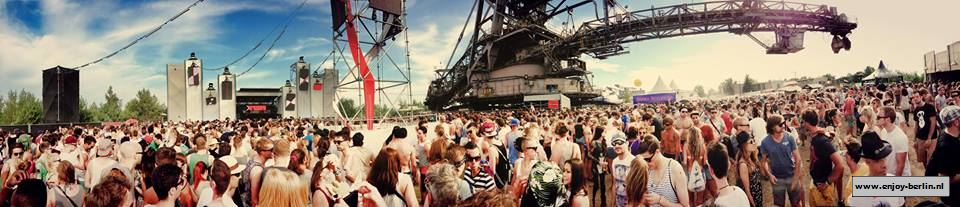 Melt Panorama Big Wheel Stage