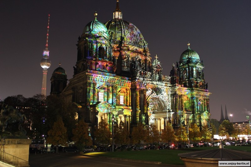 Berlijn Festival of Lights Berliner Dom