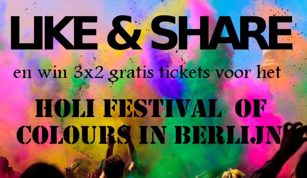 Holi Festival Win Tickets
