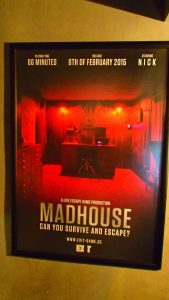 Madhouse Exit Room